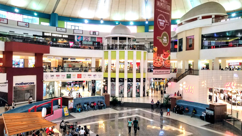 相片: 位于印度浦那(Pune)的Amanora Town Centre购物商场(2)。