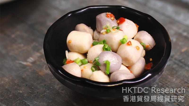 相片:傳統風味小食。