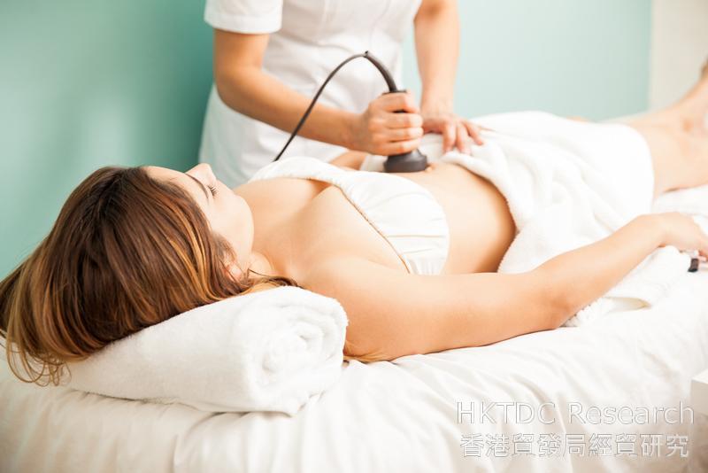 相片:內地消費者對身體美容項目需求上升。