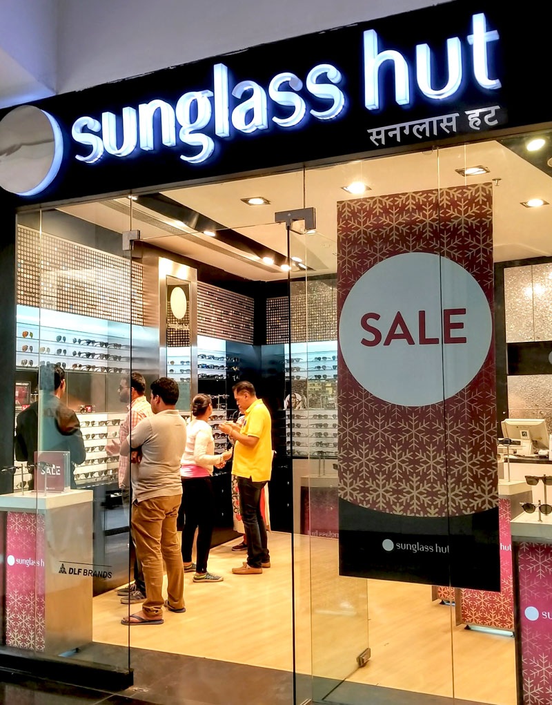 Photo: Some eyewear retailers specialise in sunglasses.