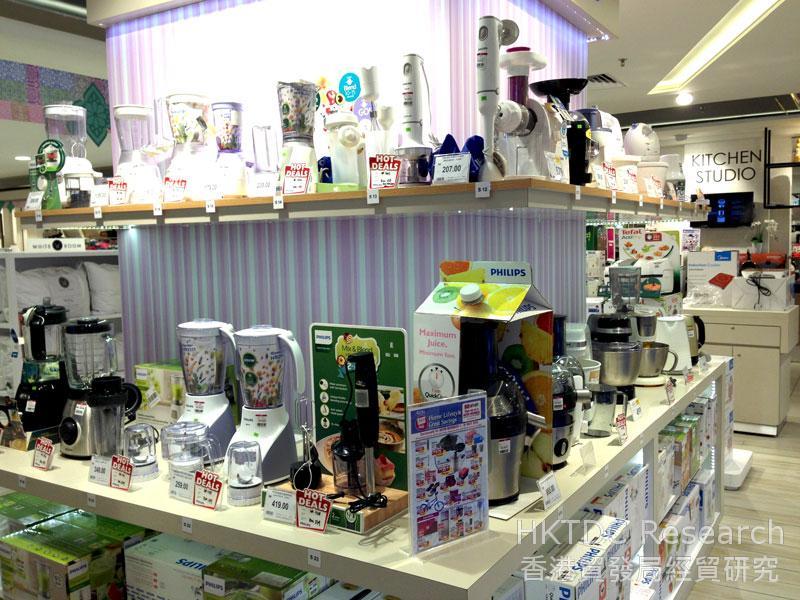 相片: 国际家电品牌在马来西亚随处可见。