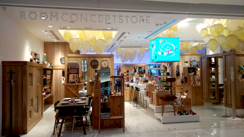 Photo: The curated collection of housewares and home decoration items in a ROOM Concept Store.