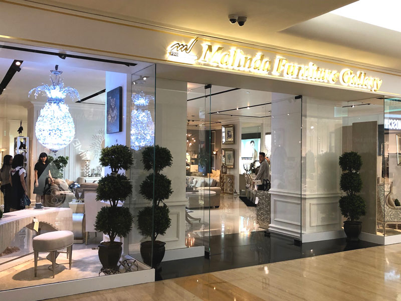 Photo: Malinda Furniture Gallery in Jakarta.