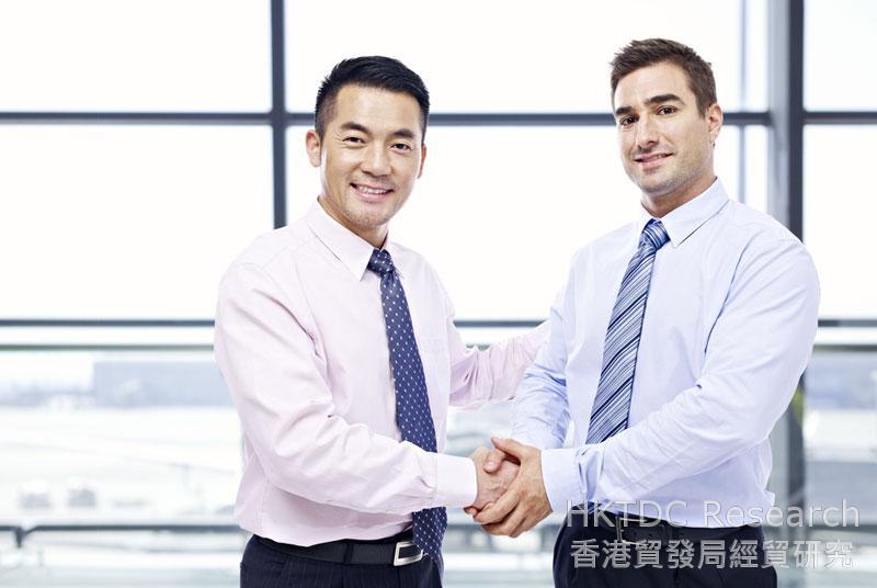 相片:香港的商贸平台可满足区内企业对国际科技资源及相关服务需求。