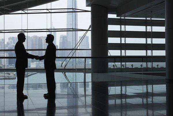相片:香港是亚洲区内重要的商贸平台及科技交易中心。