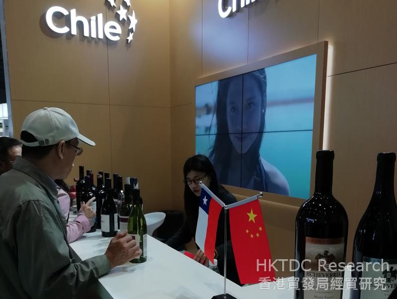 Photo: Chile indulged Chinese buyers with its mellow Cabernet Sauvignon.