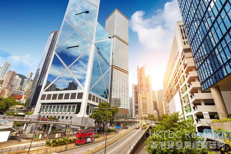 相片:香港是企业对接海外市场的理想平台。