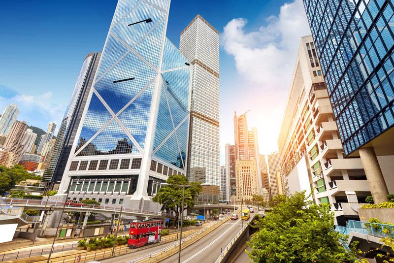 Photo: Hong Kong is an ideal platform for companies looking to connect with overseas markets.