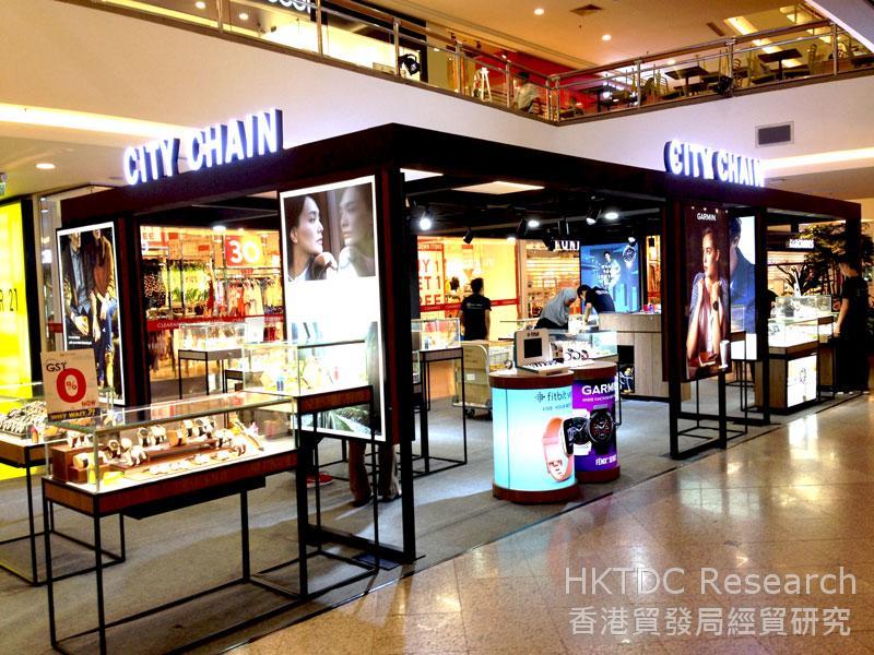 Photo: A City Chain Store in Kuala Lumpur.