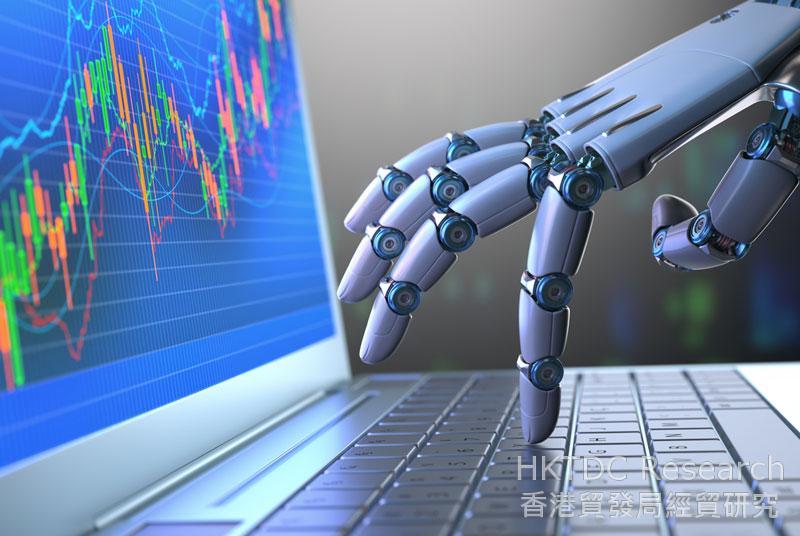 相片:不少企业向智能制造方向加快发展。