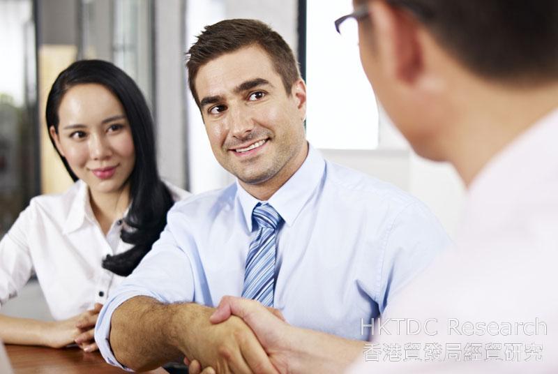 相片:香港平台可協助大灣區產業升級。