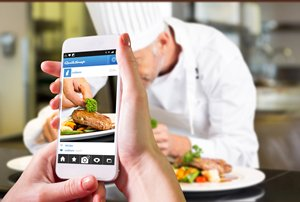 相片:用餐体验分享。