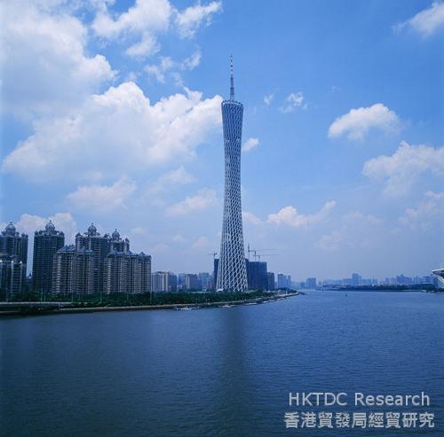 相片:廣州塔。