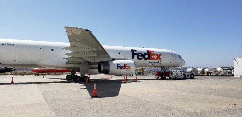 相片:联邦快递每日都有航班往来蒂华纳的Matrix Terminal。