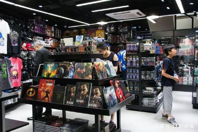 相片:铄雅在上海的Fanthful门店 (相片由广州铄雅贸易有限公司提供)。