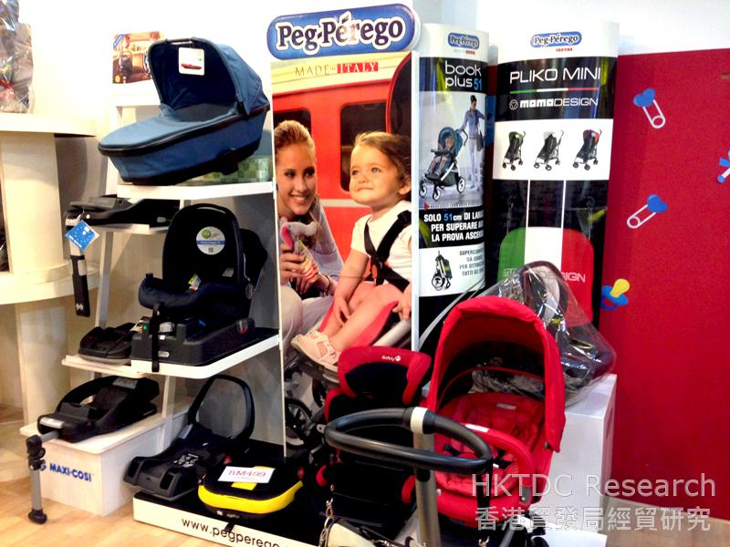 Photo: International baby stroller brands are popular in Kuala Lumpur (1).