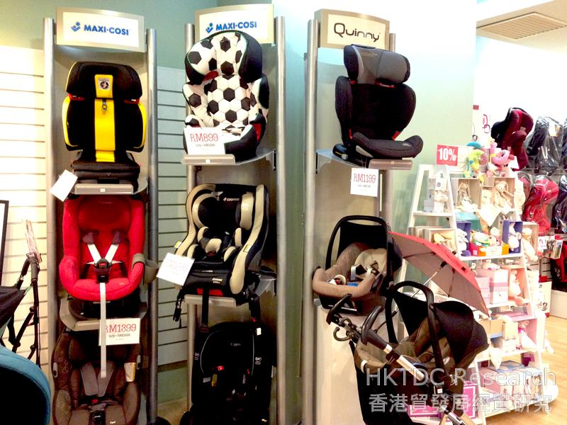 Photo: International baby stroller brands are popular in Kuala Lumpur (2).