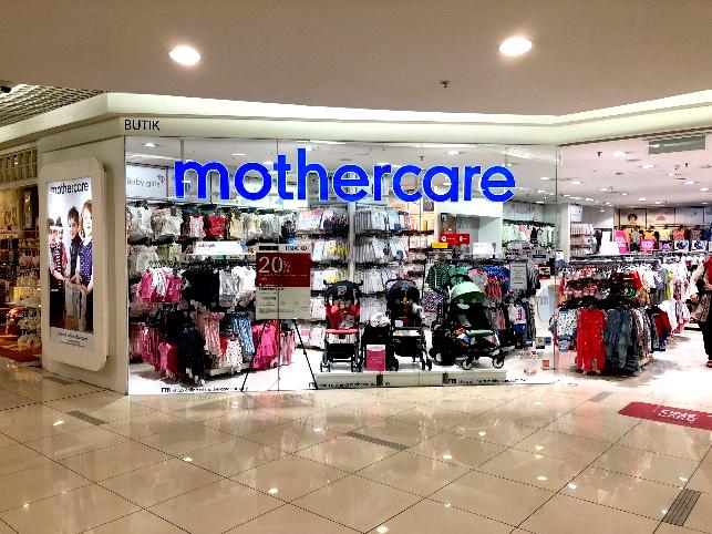 相片: 英國嬰兒用品零售商Mothercare在東盟有多家分店。