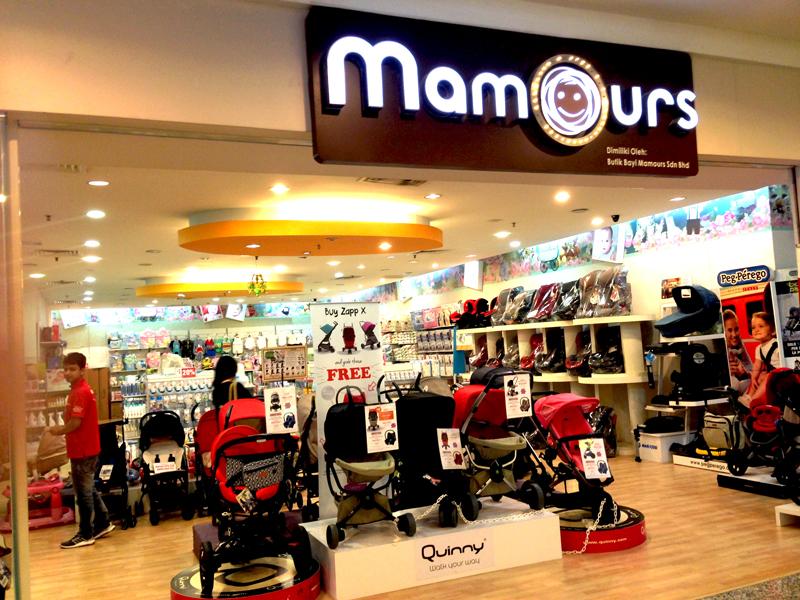 相片: MAMOURS 的吉隆坡分店。