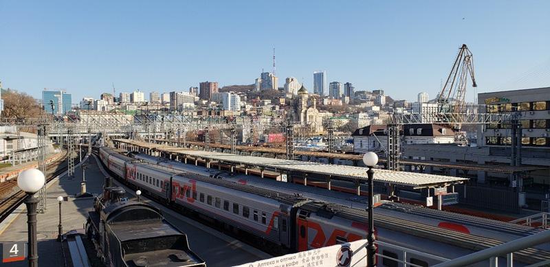 相片:西伯利亞鐵路連接莫斯科與符拉迪沃斯托克,是世界最長的鐵路之一。