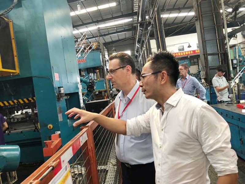 Photo: Factory visit.