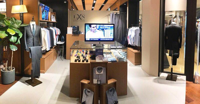相片:LXN門店。