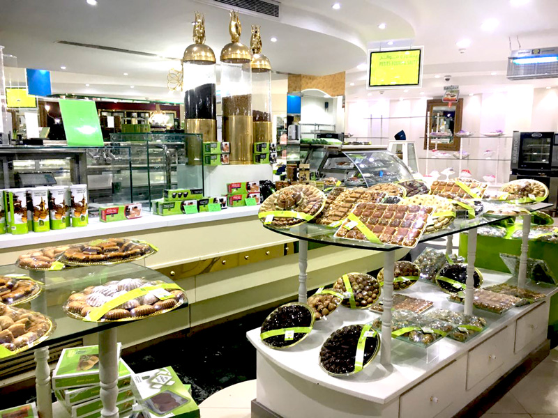 Photo: Saadeddin offers wide range of Arabic pastries and sweets.