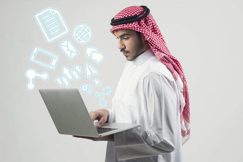 Photo: There are about 14 operational fintech start-ups in Saudi Arabia.