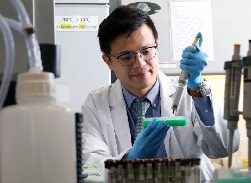 Photo: Sanomics carries out genomic diagnostics for patients all over the world. (Photograph provided by Sanomics)