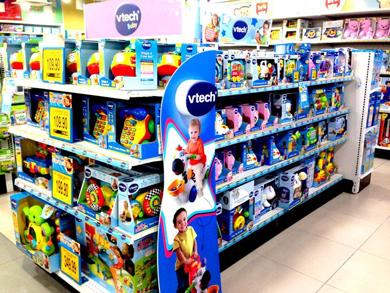 相片: 马来西亚的玩具专门店及百货公司都有销售伟易达的产品。(1)