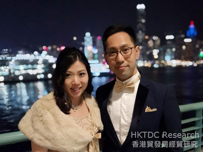 Photo: Camille Hui and Dennis Tang, Partners of TH & Partners