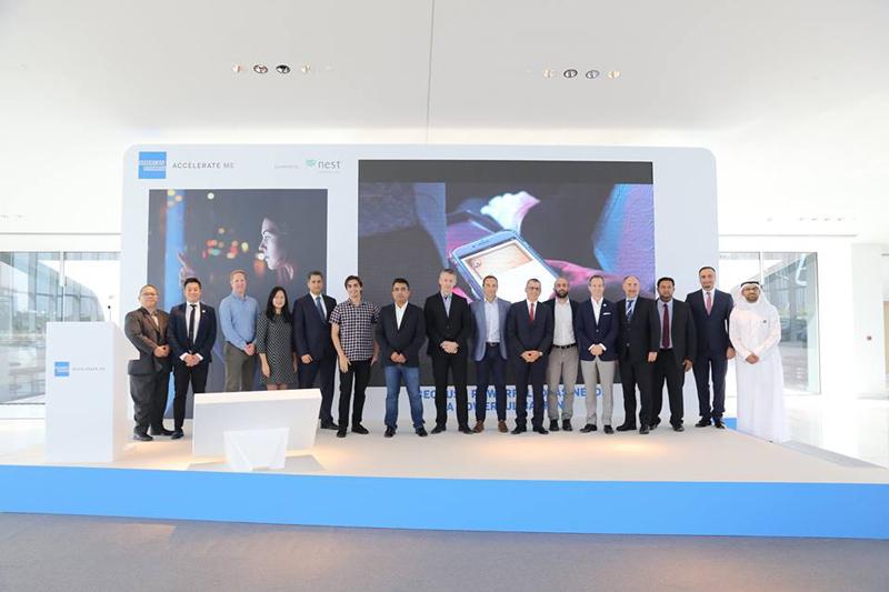 相片: 美国运通与Nest合作推行创业加速计划Accelerate ME。