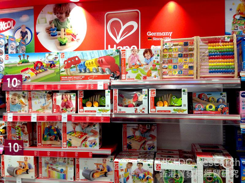 Photo: Pre-school toys in a Malaysia department store (2).