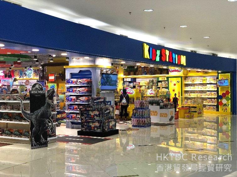 相片: 位于印尼的Kidz Station店舗。
