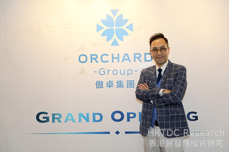 Photo: Orchard Group Chairman Eddie Pun