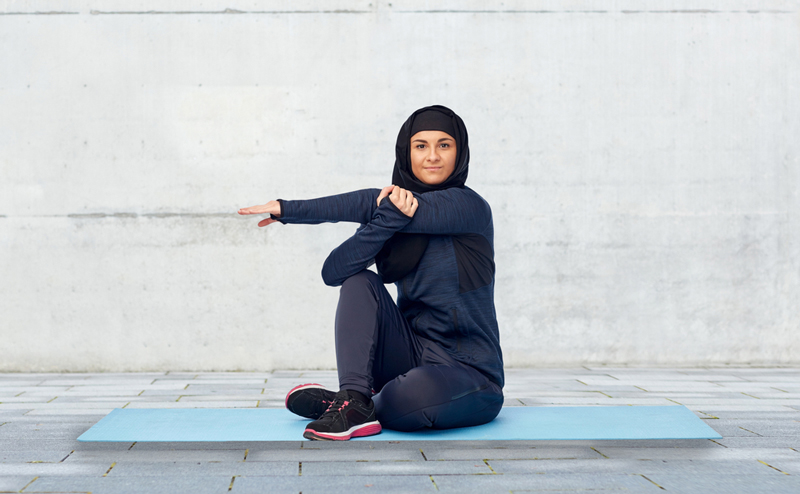 Photo: Fitness is increasingly popular among Saudi women.