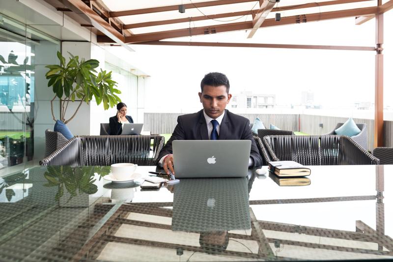 Photo: TEC's workspace in Mumbai.