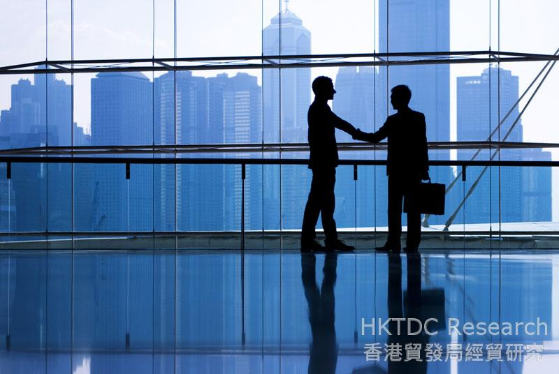 Photo: Hong Kong provides a wide range of professional services to mainland enterprises.