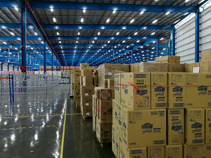 相片:洋蔥位於香港的海外倉(相片由洋葱Omall提供)
