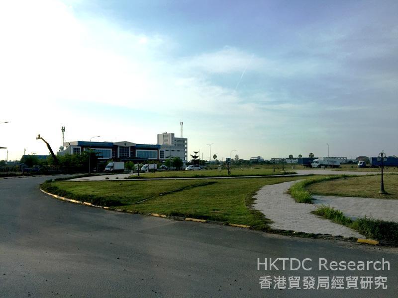 Photo: Phnom Penh Special Economic Zone (PPSEZ).