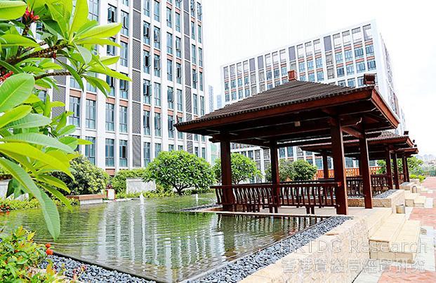 相片:泰成逸園裡的户外庭園