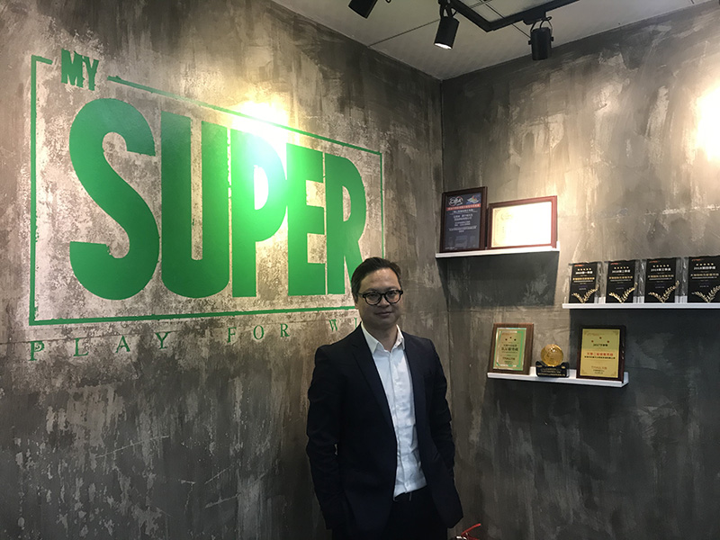 Photo: MY Super Founder and CEO Tommy Cheng