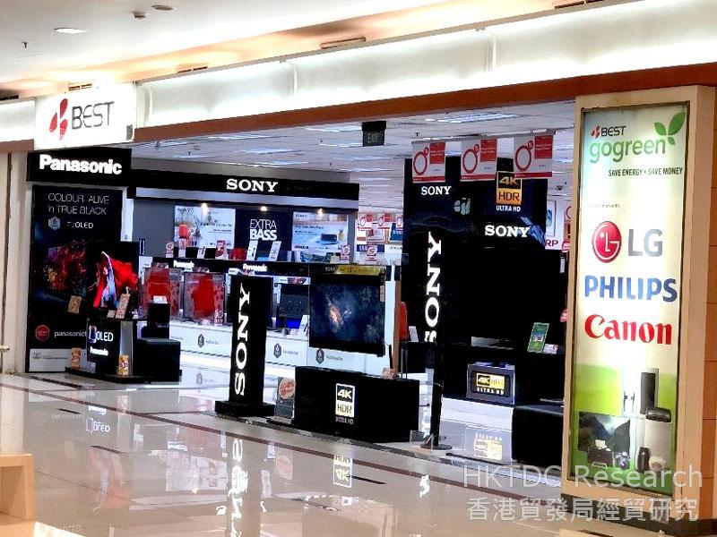 相片: BEST DENKI在印尼的店铺。