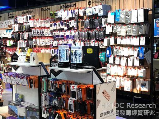 相片: Flash Gadgets展示多种电子产品配件 (2)。