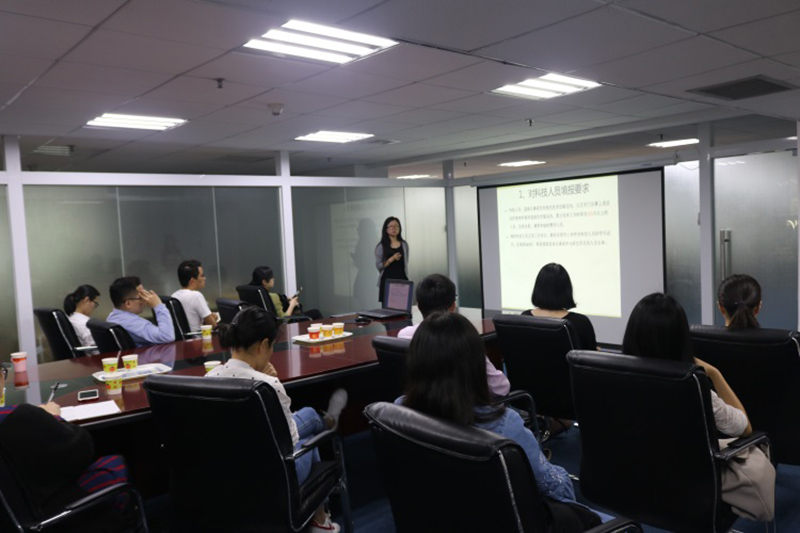 Photo: Training session held at Southern E-Commerce aims at helping members make use of CBEC to expand the import and export market. (Photo courtesy of Southern E-Commerce)]