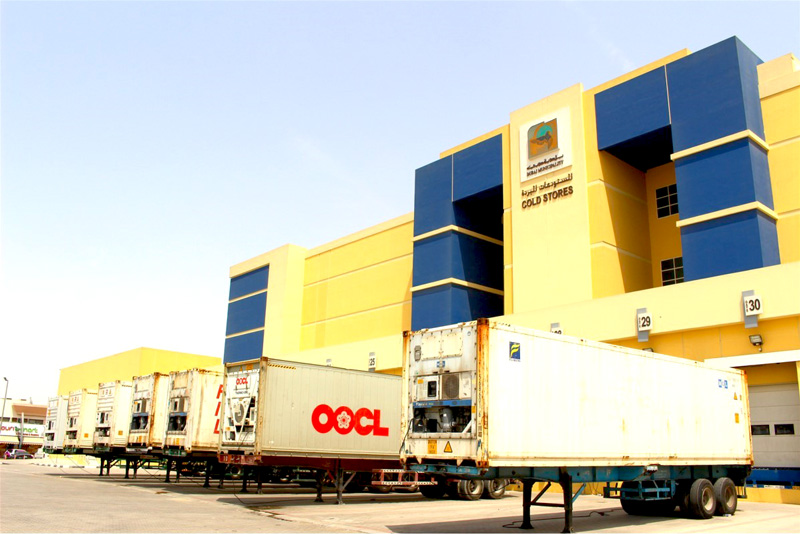 相片: 明星位於迪拜的冷藏倉庫。