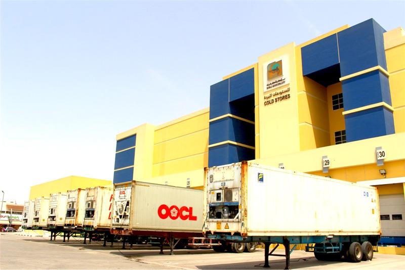 相片: 明星位于迪拜的冷藏仓库。