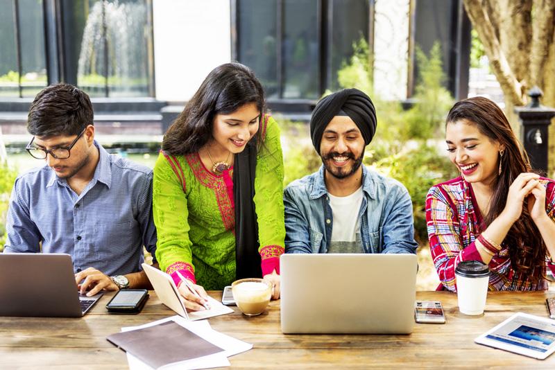 相片: 年輕人是印度初創企業生態系統的主導力量。