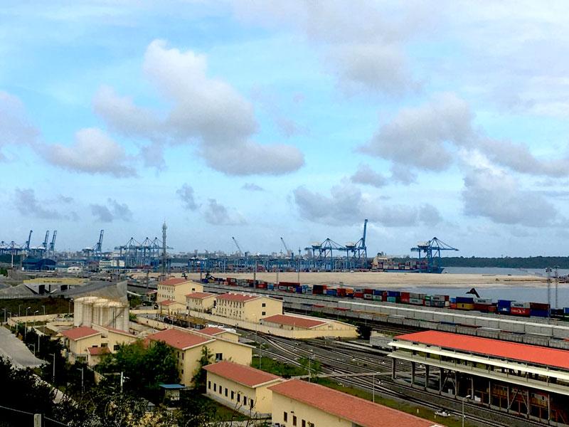 Photo: Port of Mombasa.