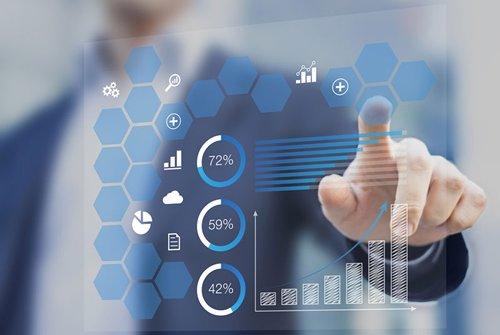 相片:利用先進分析技術篩選有用可靠的商業數據。